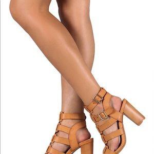 Women's leatherette Gladiator Sandal